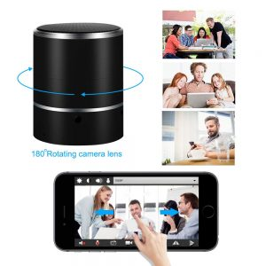 camera enceinte bluetooth