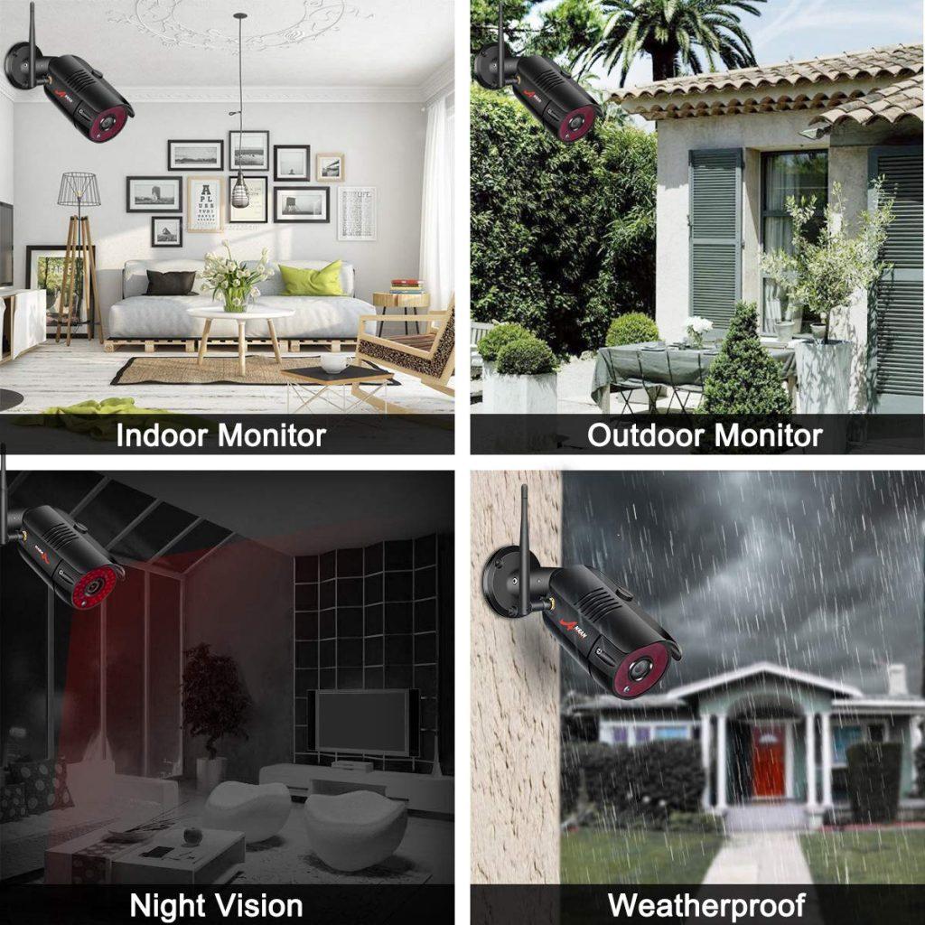 camera surveillance + enregistreur comparatif