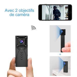 mini camera espion chemise test