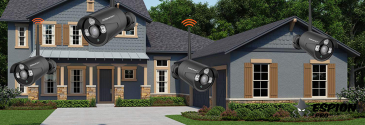 Camera surveillance wifi enregistreur