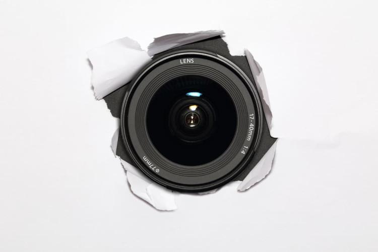 comment cacher une camera